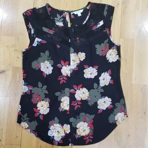 Candies Floral Top Size S